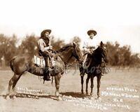 1914 RODEO ROUND-UP COWGIRL BERTHA BLANCETT PHOTO 2