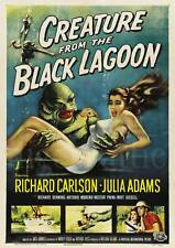 CREATURE from the BLACK LAGOON  A3 printed poster