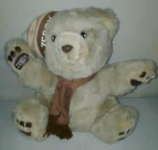 Zellers Zeddy Teddy Bear Mascot Plush w/ Brown Hat & Scarf Stuffed Toy 12''
