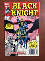 Black Knight #1 (1990) 8.0 VF Marvel Key Issue Comic Book Newsstand Edition