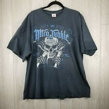 NHRA Nitro Junkie Test Tube T-shirt Fruit of the Loom 100% Cotton Size 2X