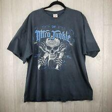 NHRA Nitro Junkie Test Tube T-shirt Fruit of the Loom 100% Cotton SZ 2X