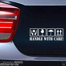(480) Fun Sticker Aufkleber / Handle With Care JDM  Stickerbomb