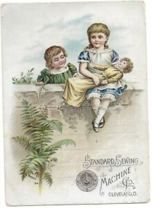 Standard Sewing Machine Co. Cleveland Ohio Victorian Trade Card Bufford 816