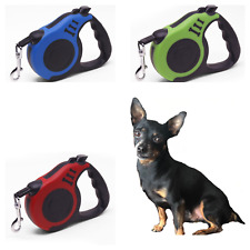 Pet Dog Cat Puppy Automatic Retractable Traction Rope Walking Lead Leash Collars