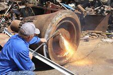Oxygen Gasoline Cutting Torch Set Big Savings Vs Acetylene Propane Cut 4 Steel