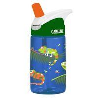 Camelbak Eddy Kids Iguanas 0.4L Spill Proof Hydration Water Bottle