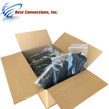 "7"" Black Nylon Zip Cable Ties 50 Lbs Test 1 Case (10,000 Pieces Total)"