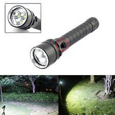 New 8000Lumen 3x XM-L2 LED 18650 Diving Flashlight Torch Lamp Waterproof Light