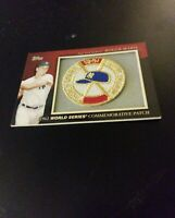 2010 Roger Maris Topps 1961 World Series Commemorative Patch Card  MCP-17