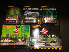 Hot Wheels Ghostbusters Ecto-1 Retro Entertainment Lot Of 5.