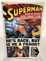 Superman Back in Action Collects Action #841-843 DC Comics TPB Paperback New
