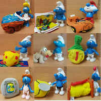 McDonalds Happy Meal Toy 2002 Plastic Smurfs Character Toys - Various