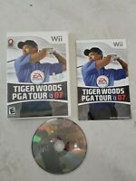 Tiger Woods PGA Tour 07 (Nintendo Wii, 2007) Complete and Tested
