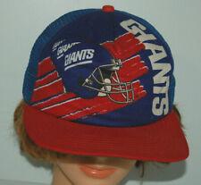NY Giants hat NFL football snapback cap 80s New York New Era vtg USA made helmet