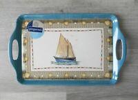 Pimpernel Melamine Serving Tray, Coastal Breeze, Sailboat, New