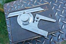 New Listingvintage Brown Amp Sharpe 496 Used Universal Bevel Protractor Machinist Tool