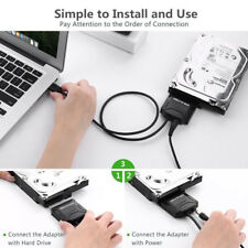 USB 3.0 to SATA 2.5/3.5'' HDD SSD Hard Drive Disk Converter Cable Power
