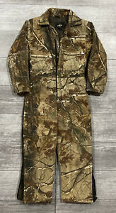 RedHead Silent-Hide Quilt Lined Insulated RealTree AD-HD Camo Coveralls Youth 10