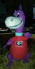 "NEW Flinstones Georgia Bulldog College Hanna Barbera Dino 11"" Plush Dinosaur #S1"