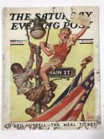 The Saturday Evening Post July 3, 1937 Vintage Magazine