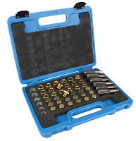 US 114pc Oil Pan Thread Repair Kit Sump Gearbox Drain Plug Tool Set M13 - M22