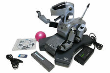 SONY AIBO ROBOT ERS111 SILVER with GOOD BATTERY 2 bundle Software DISCO+AIBOWARE