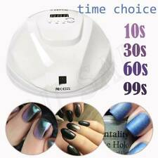54W Professional Gel Nail Lamp Led Nail Dryer Polish Quick Curing 4 Timers Lk61