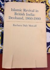 Islamic Revival In British India: Deoband, 1860-1900 HC w/ DJ 1982 First Edition