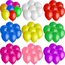 Luftballons Ø 25 cm Farbe & Stückzahl frei wählbar Ballons Helium Luftballon