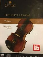 Cecilio The First Lesson Violin [with CD and DVD]