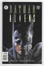 BATMAN / ALIENS #1 DARK HORSE DC GRAPHIC NOVEL COMIC BOOK 1997 Sci-Fi movie NM+