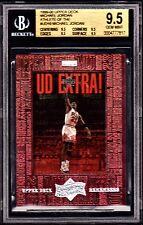 "1999 ATHLETE OF THE CENTURY ""UD REMEMBERS"" MICHAEL JORDAN #UD10 *BGS 9.5. *POP=1"