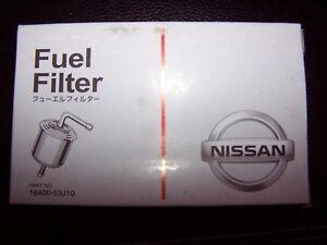 Genuine Nissan Fuel Filter 16400-53J10 Nissan Altima, Stanza & more