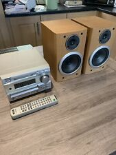 Sony DHC-MD373 Mini Hi-Fi Component System Mini Disc Recorder CD Player Complete