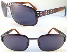 Rare Momo Design Sport Sunglasses for men very Solid quality metal Brown size XL