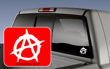Anarchy Sticker CAR Window Decal Vinyl Lettering laptop truck motorcycle