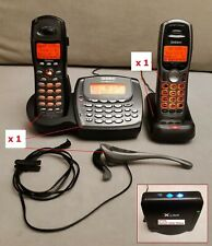 Uniden PwrMax 5.8 GHz 2 Line Residential Phone Syst c/w 2 Handsets+new batteries