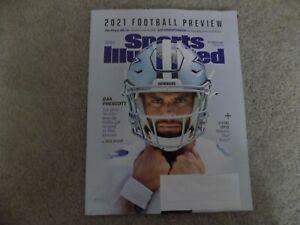 sports illustrated 2021 football preview september 15 dak prescott dallas cowboy