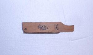TURKEY CALL MOSSY OAK TURKEY THUGS WATERPROOF BOX BLADE NICE LOOK