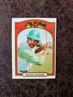 (1) 1972 TOPPS Baseball Reggie Jackson #435 - New York Yankees Legend