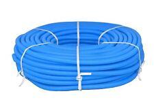 Flexibles Wellrohr M25 100 m Blau Ring Elektrorohr Schutzrohr Leerrohr