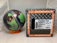 """New listing NIB 15lbs Hammer Statement Pearl Bowling Ball Pin 3-4"""""""