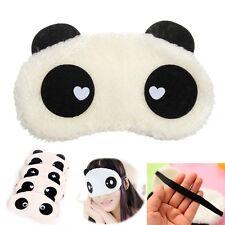 Panda Masque Cache de Sommeil Nuit Bandeau Yeux Relaxation Anti Lumière Fatigue