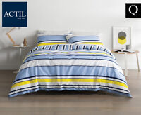 Actil Hutcheson Quilt Cover Set in Sky