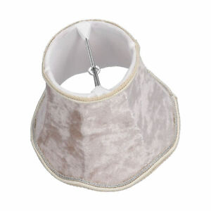 3Pcs Clip‑On Lampshades Modern E14 Chandelier Table Lamp Shade Accessory KTV GS