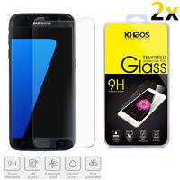 2x KHAOS For Samsung Galaxy Galaxy S7 Premium Tempered Glass Screen Protector
