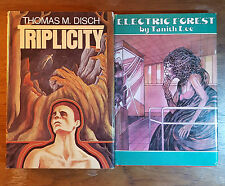 Sci Fi 3 books-Electric Forest-Tanith Lee/Triplicity-Thomas M. Disch