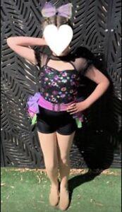 Curtain Call Dance Costume Child Medium
