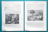 SIR CHARLES EASTLAKE British Painter - 1856 Biography Article + Illustrations